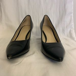 Black Nine West pumps